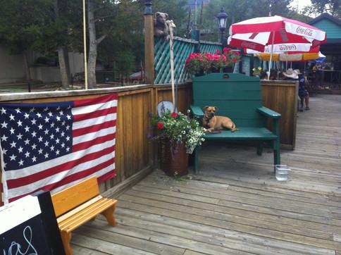Grand Lake_American Flag_Dog_2017-Photo