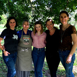 Producers Laura, Birgit, Actress Avi Lake, Writer Laurie, Director Peggy