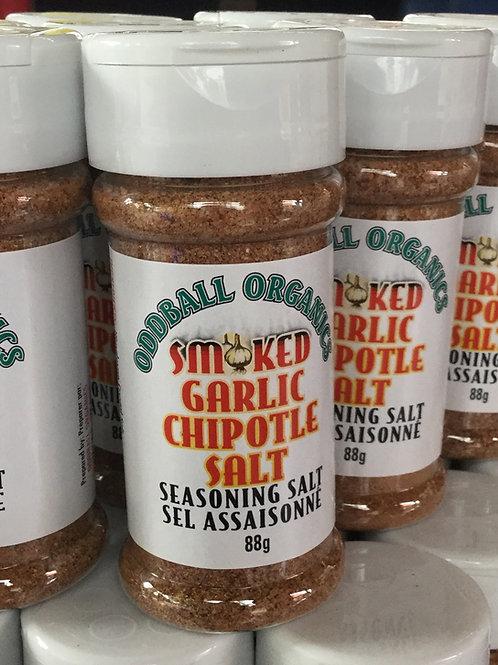 Smoked Garlic Chipotle Salt