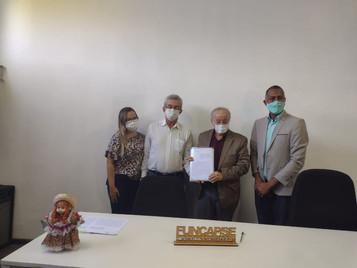 Emenda parlamentar destinada a SFNSC pelo Dep. Estadual Luciano Bispo de Lima