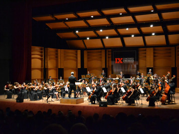 Apresentação da Banda Sinfônica da SFNSC no Teatro Tobias Barreto