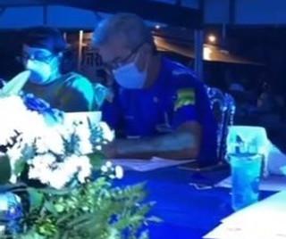 Participação do Presidente da SFNSC no 1º Festival Itabaianense da Canção.