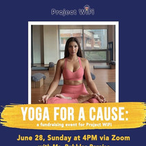 Project Wifi Event Yoga for a Cause