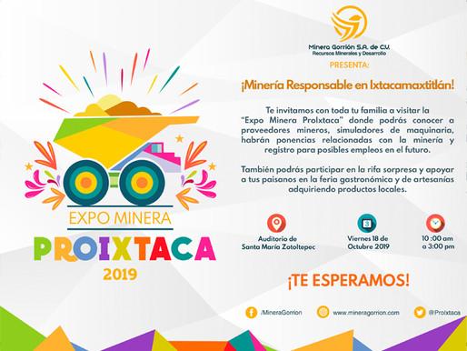 EXPO MINERA PROIXTACA 2019