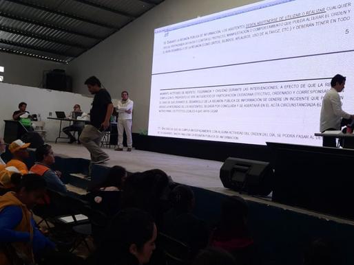 Presenta detalles Minera Gorrión sobre proyecto Ixtaca en Reunión Informativa
