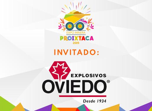 EXPLOSIVOS OVIEDO EN EXPO MINERA PROIXTACA 2019