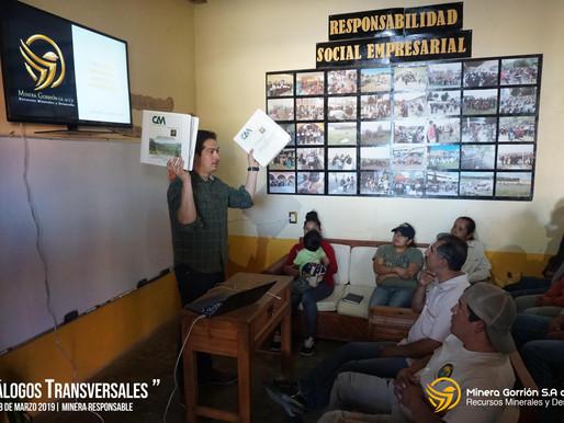 """Sesión de Diálogos Transversales con el tema """"Presentación de aspectos importantes de la MIA""""."""