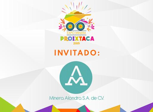 MINERA ALONDRA EN EXPO MINERA PROIXTACA 2019