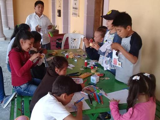 Club de Lectura en Santa María Zotoltepec.