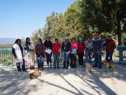 Apoyo al Jardín de Niños Comunitario 20 de Noviembre en Zacatepec