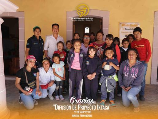 Primaria y Secundaria CONAFE Acayucan visitan Proyecto Ixtaca