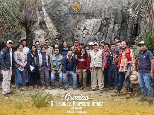 Estudiantes de la UNAM visitan el Proyecto Ixtaca