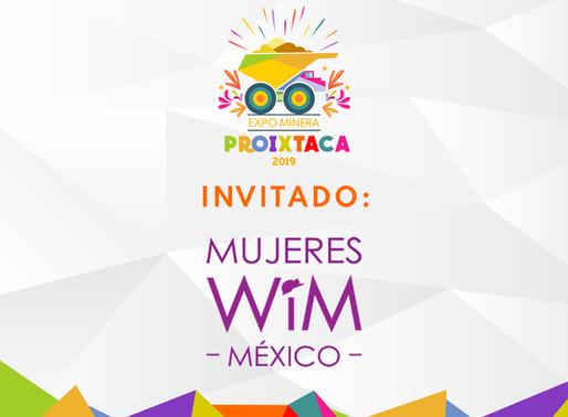 MUJERES WIM MÉXICO EN EXPO MINERA PROIXTACA 2019