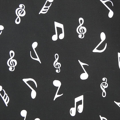 Music Notes Face Mask