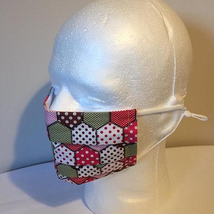 Patchwork Face Mask