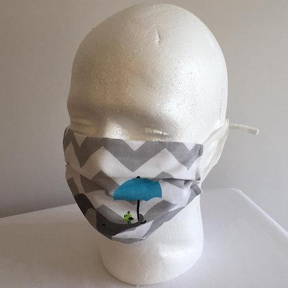 Elephants Face Mask