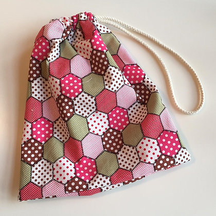 Patchwork Accessory Bag