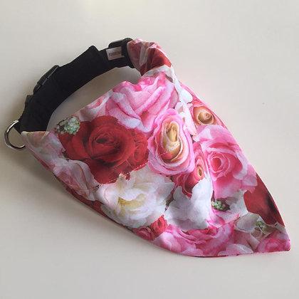 Rose Dog Bandana