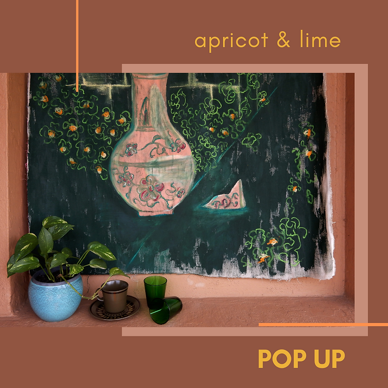 Apricot & Lime Pop Up