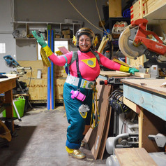 """""""The world would look more compassionate. It would be more about the people rather than money and finance."""" Penny Petridis aka Female Tradie"""