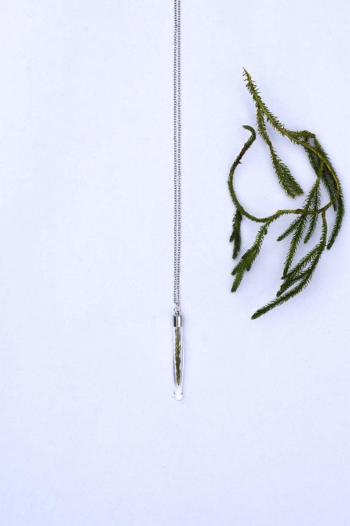 Lake Moss Glass Pendant