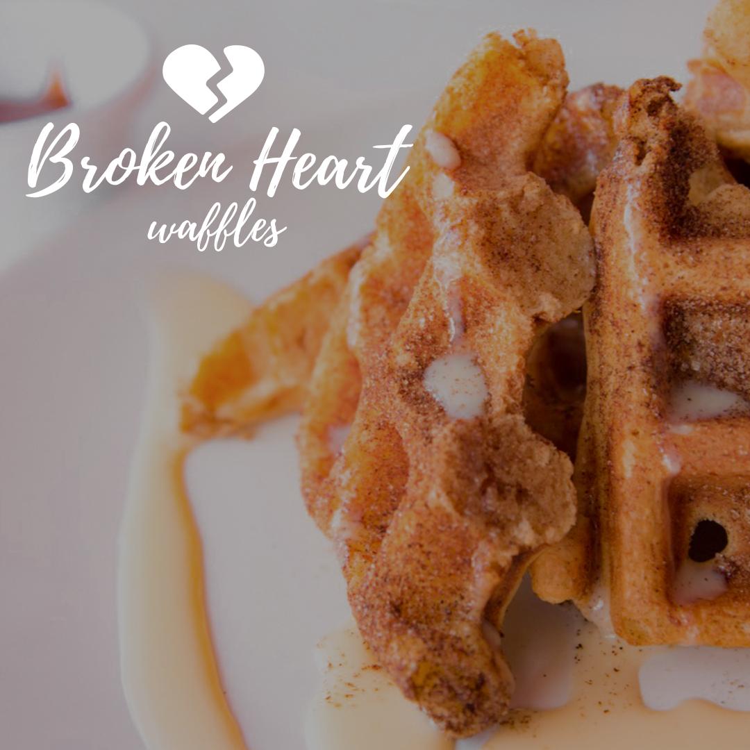 Broken Heart Waffles BTH