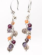 Berry Drop earrings