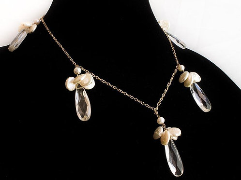 WOMENS PEDAL NECKLACE