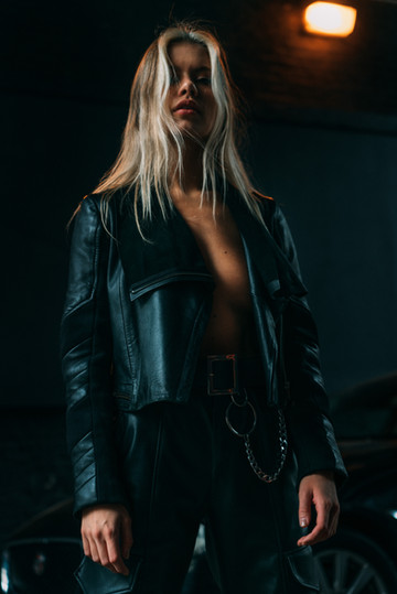 Leather Jacket Demu