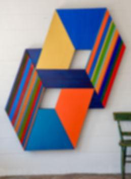 D DeLong Geometric Paintings