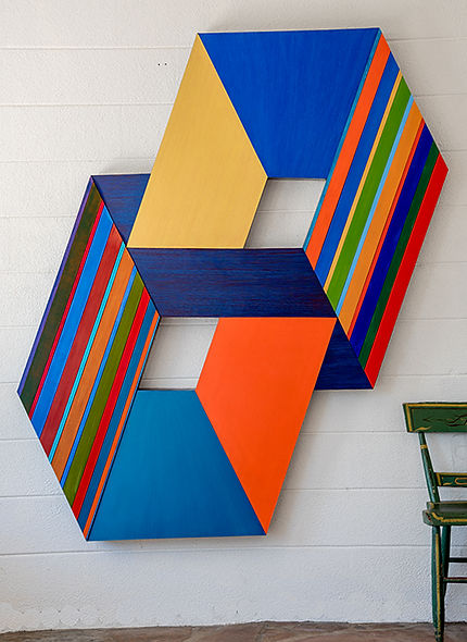 D DeLong Geometric Paintings