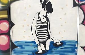 Street Art at Bernie Grant Arts Centre in N15