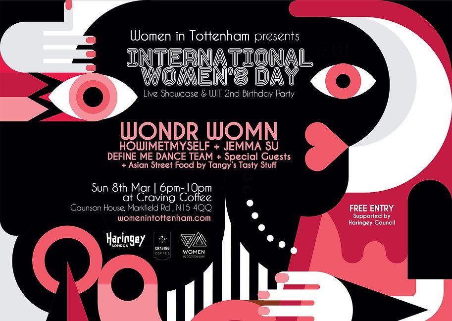 International Women's Day Tottenham 2020