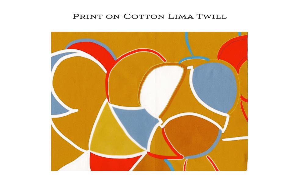 Printed Fabric Lima Twill