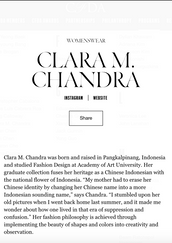 Profile in CFDA Website