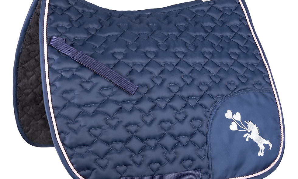 Unicorn Glitter Saddle Pad