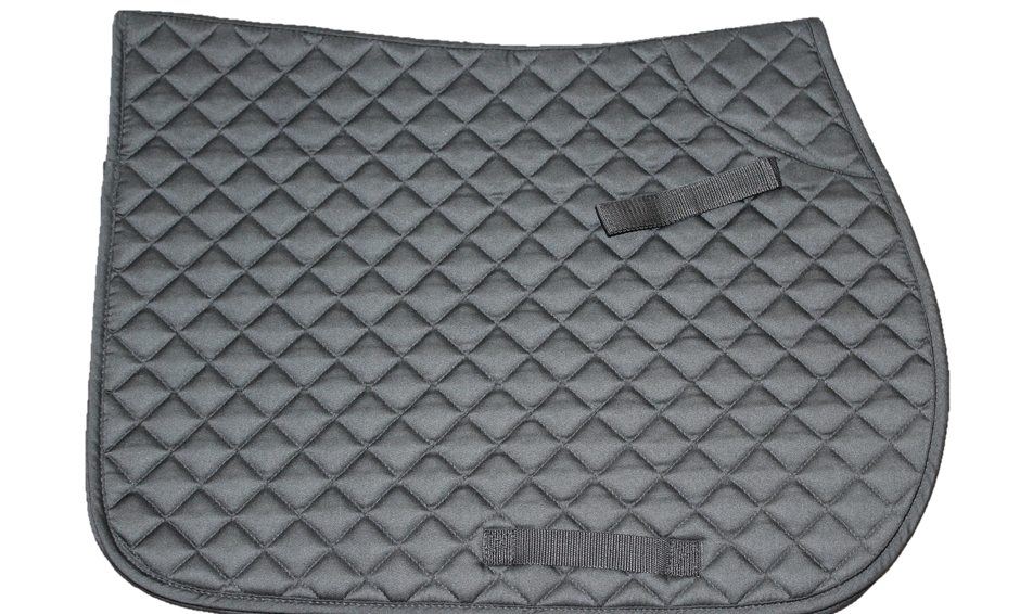 Cotton Quilted Saddle Cloth