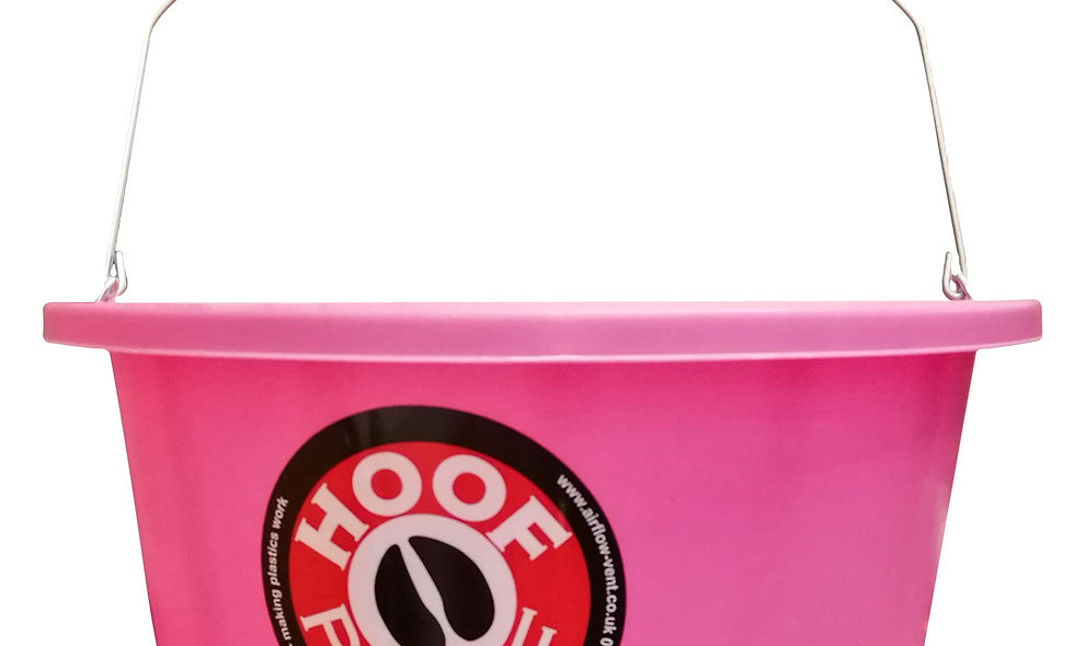Hoof Proof Shallow Feed Bucket