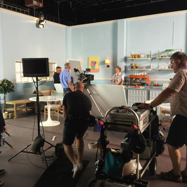Studio set for Twirlywoos