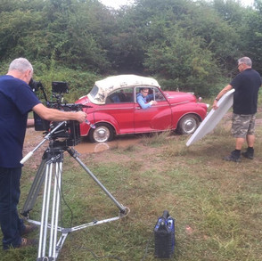 Filming Twirlywoos - pulling