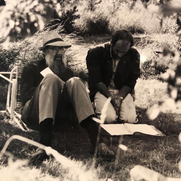 John Cunliffe discussing teh script