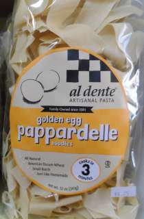Golden Egg Pappardelle 12oz