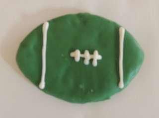 Dog Treat - Fido's Football - Green & White
