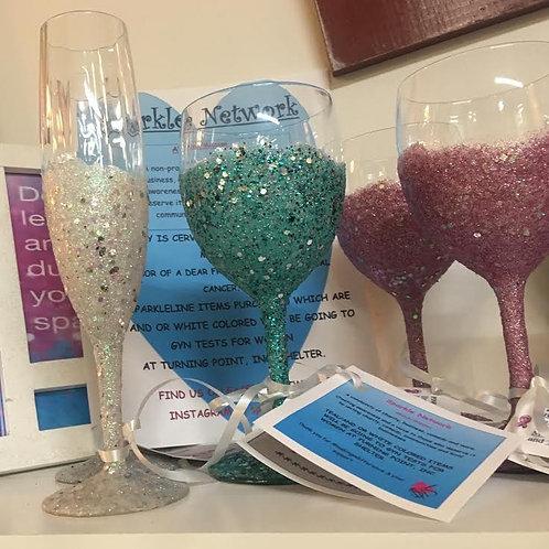 Sparkle Wine Glasses