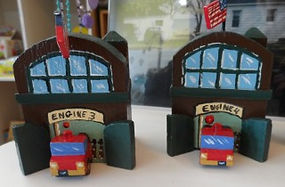 Fire Station Village Piece Joseph Dell