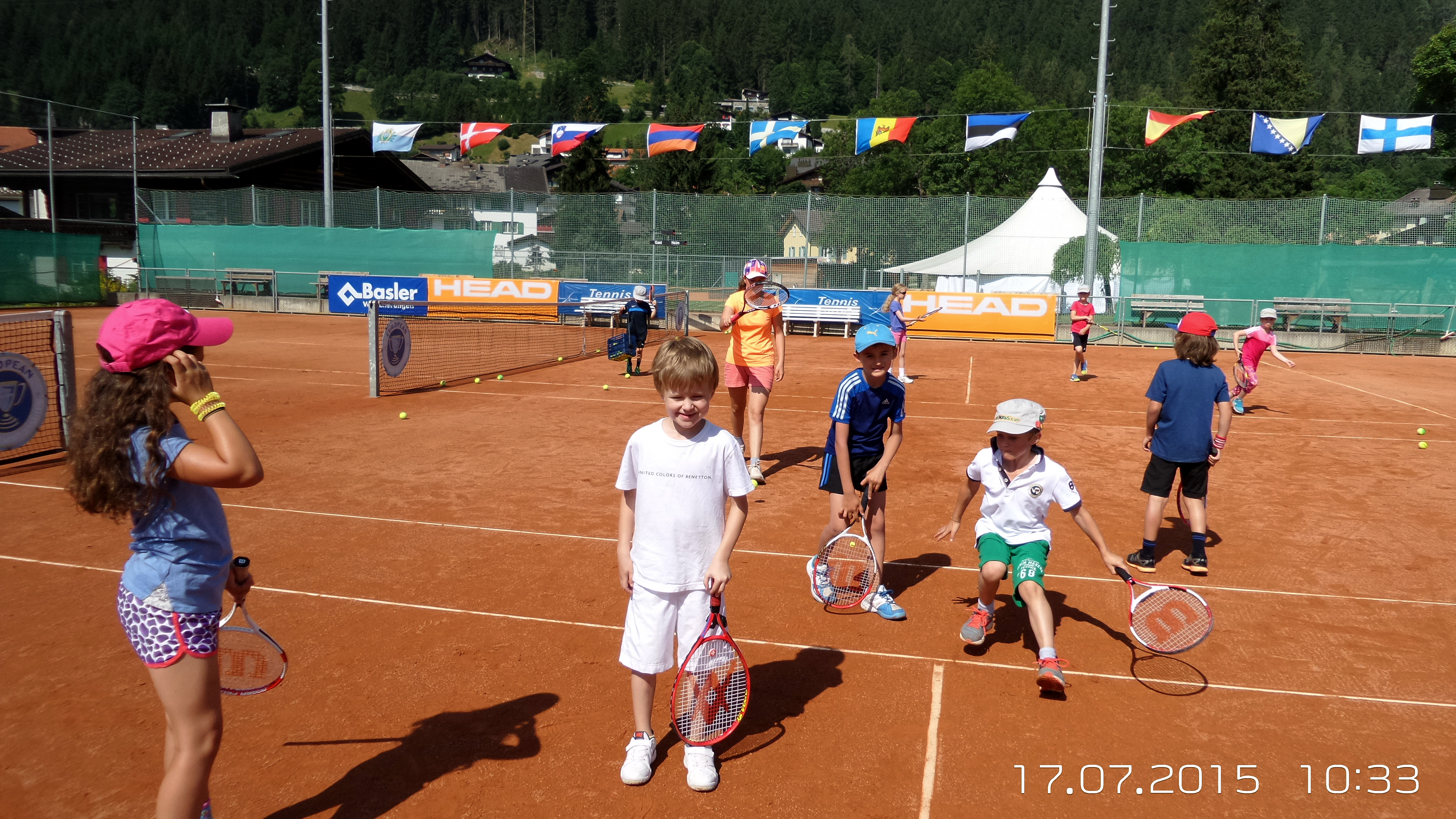 Tenniscamp ..