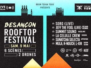 BESANÇON : Un festival de musique vivante sur les toits