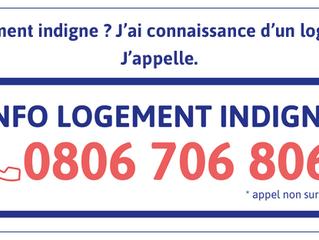LOGEMENT - 0806 706 806: le numéro «info logement indigne»