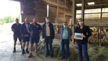 ABBANS-DESSOUS : Visite du GAEC des Foyards