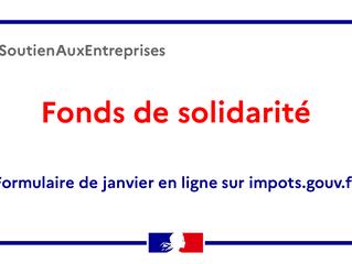 ENTREPRISES - Le Gouvernement complète et prolonge le fonds de solidarité